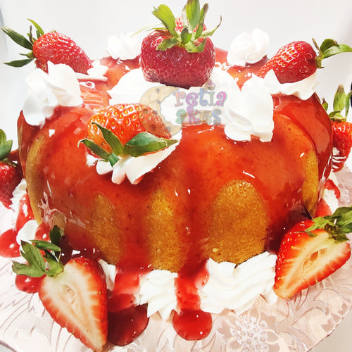 Strawberry Shortcake Pound Cake