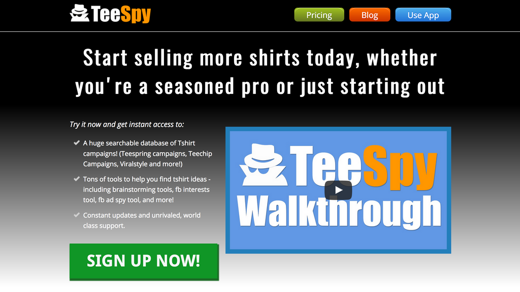 teespy tshirt industry intelligence