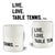 Live Love Table Tennis Table Tennis Mug Ping Pong Player Coffee Tea Cup
