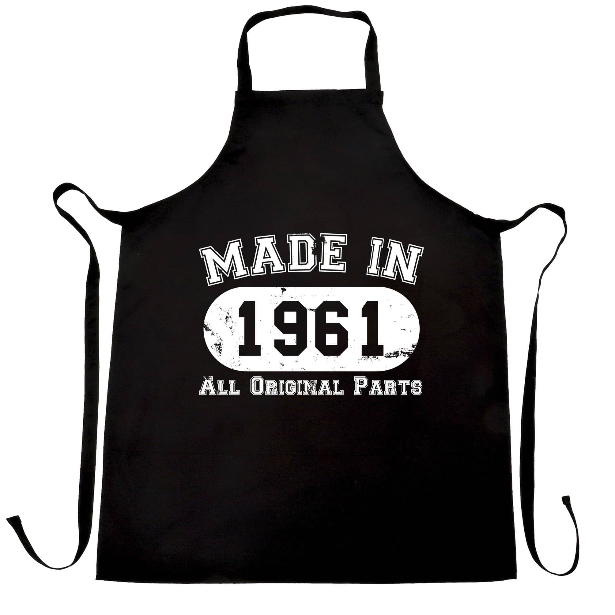 Made in 1961 All Original Parts Apron [Distressed]