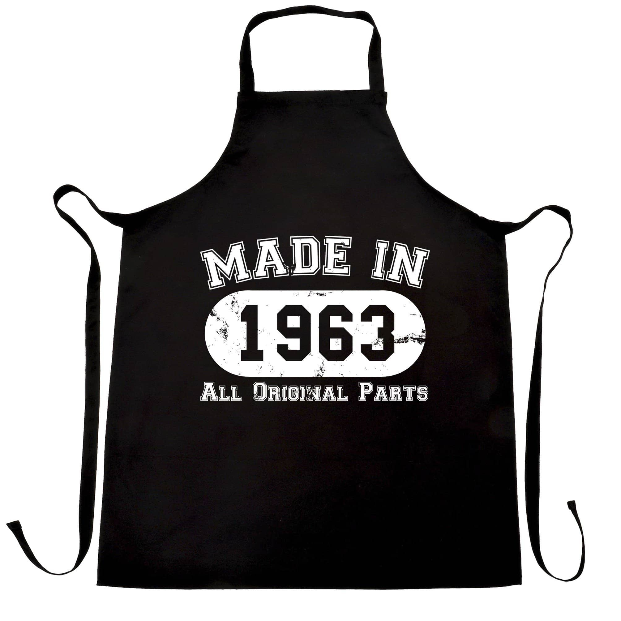 Made in 1963 All Original Parts Apron [Distressed]