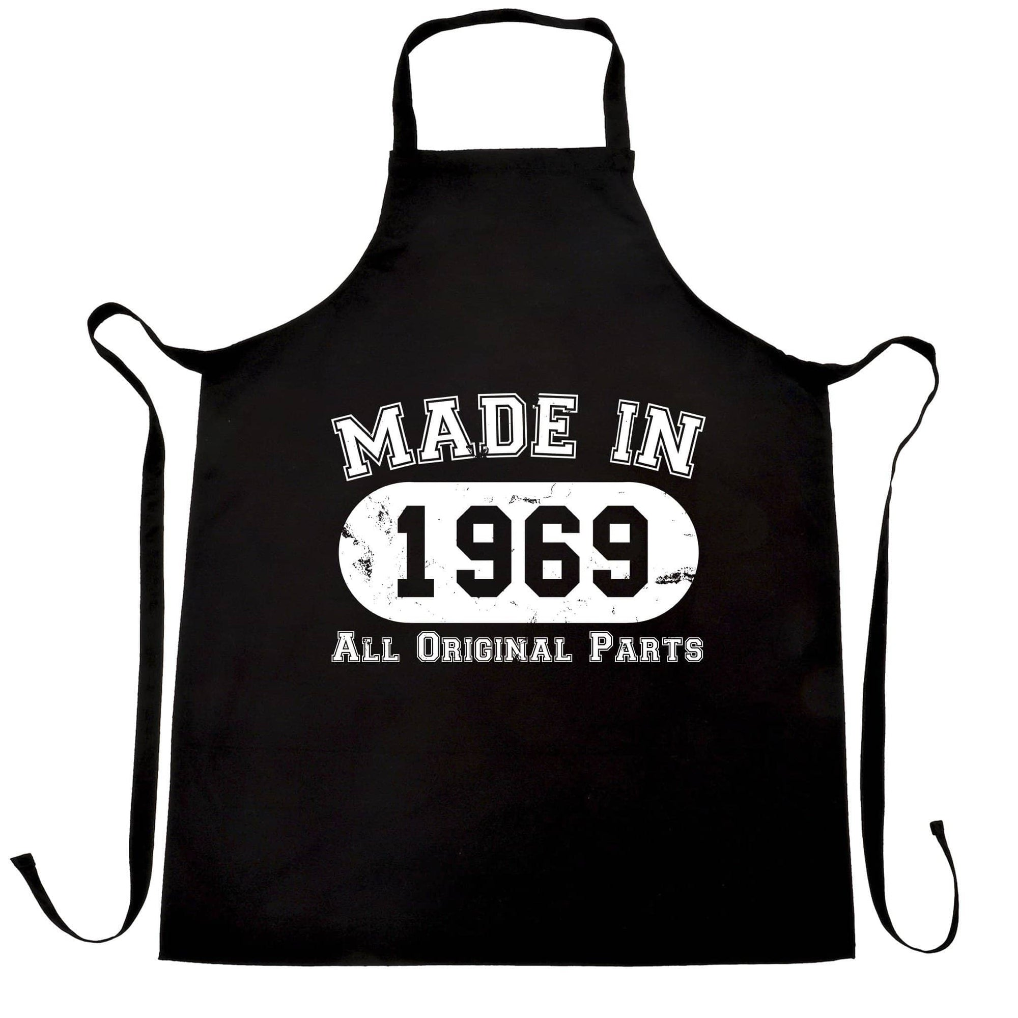 Made in 1969 All Original Parts Apron [Distressed]