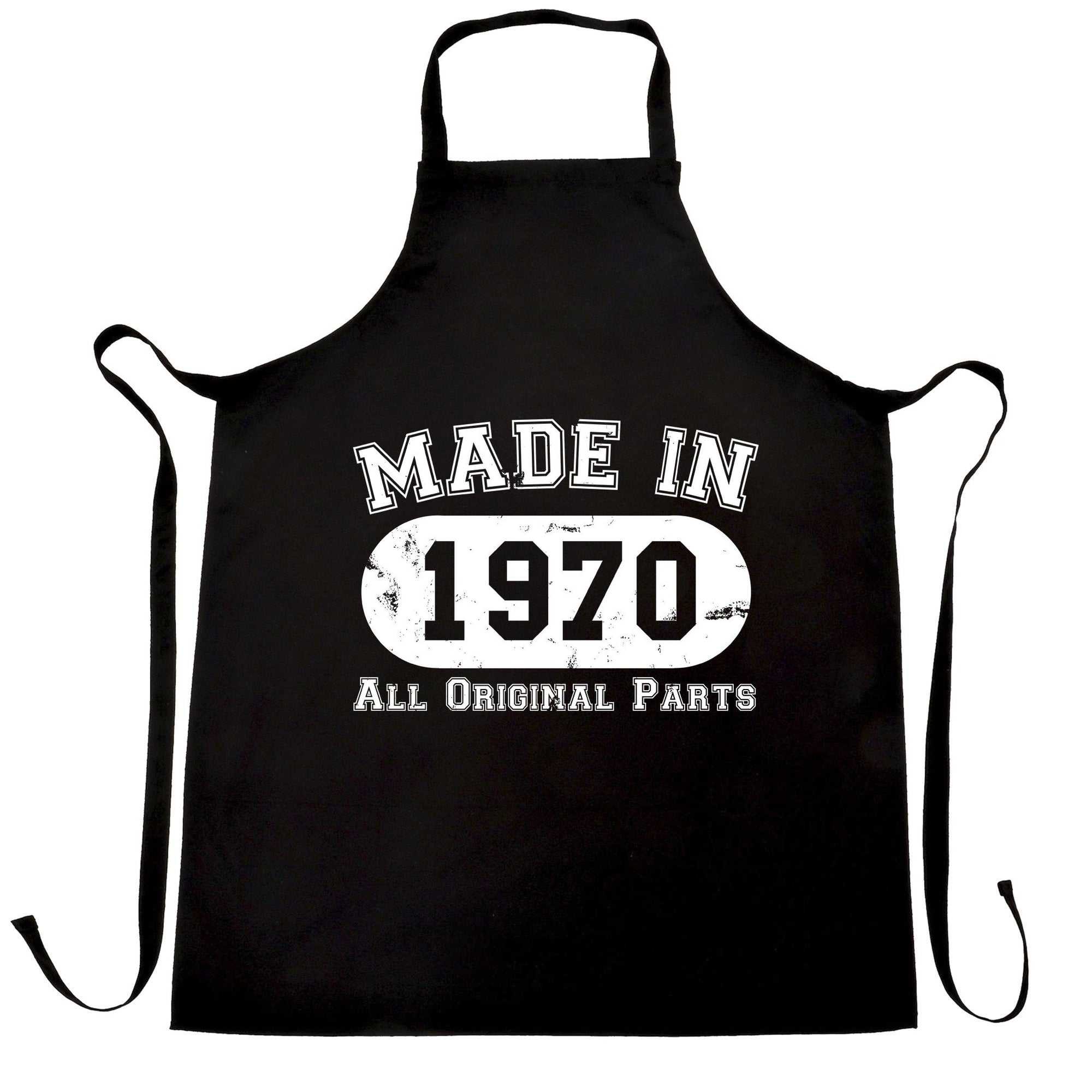 Made in 1970 All Original Parts Apron [Distressed]