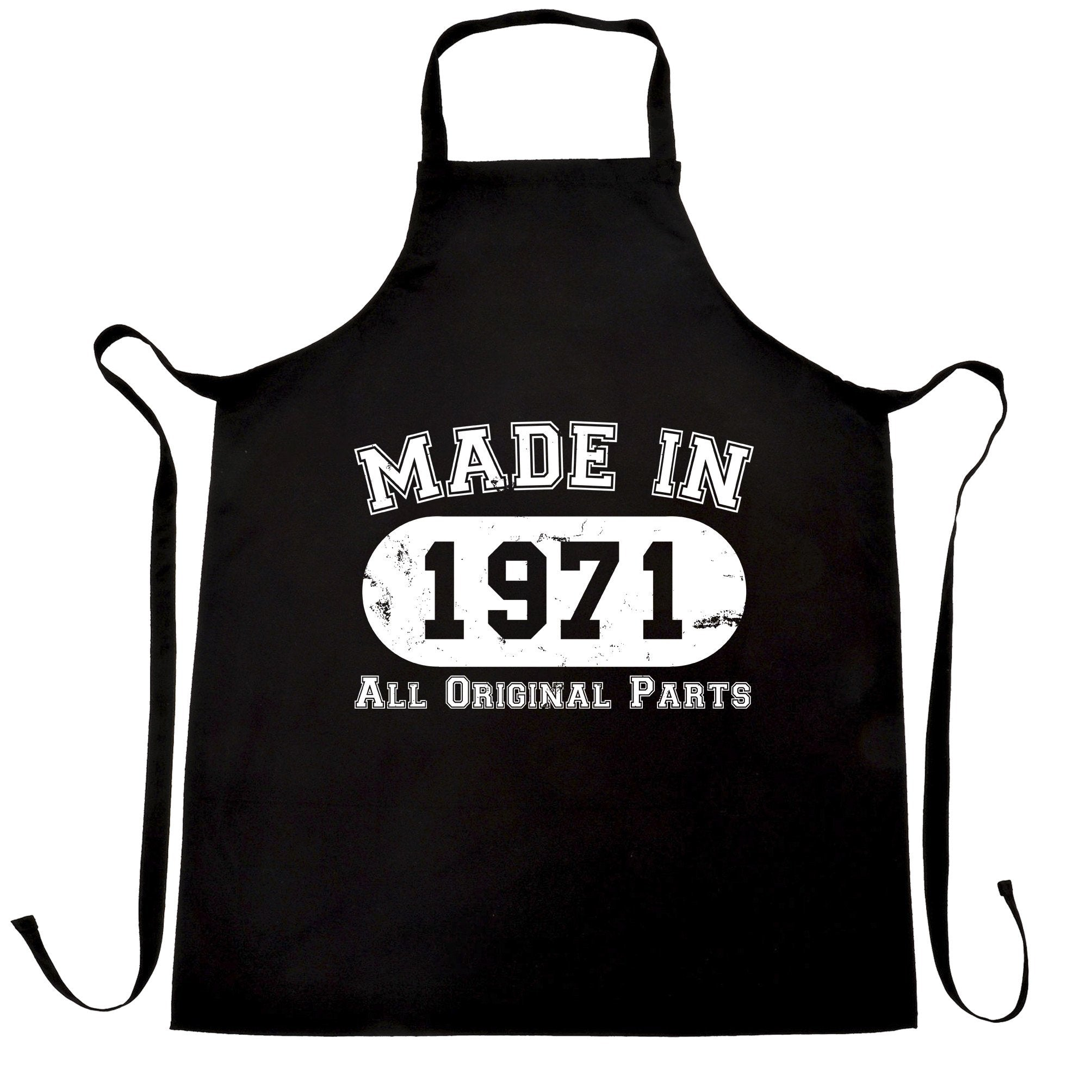 Made in 1971 All Original Parts Apron [Distressed]