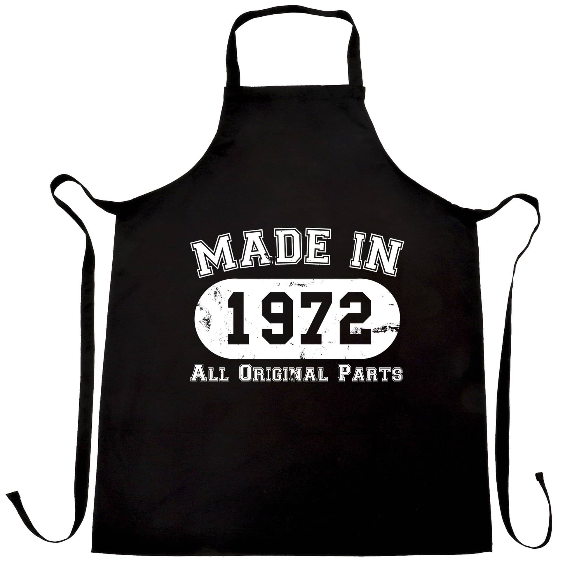 Made in 1972 All Original Parts Apron [Distressed]