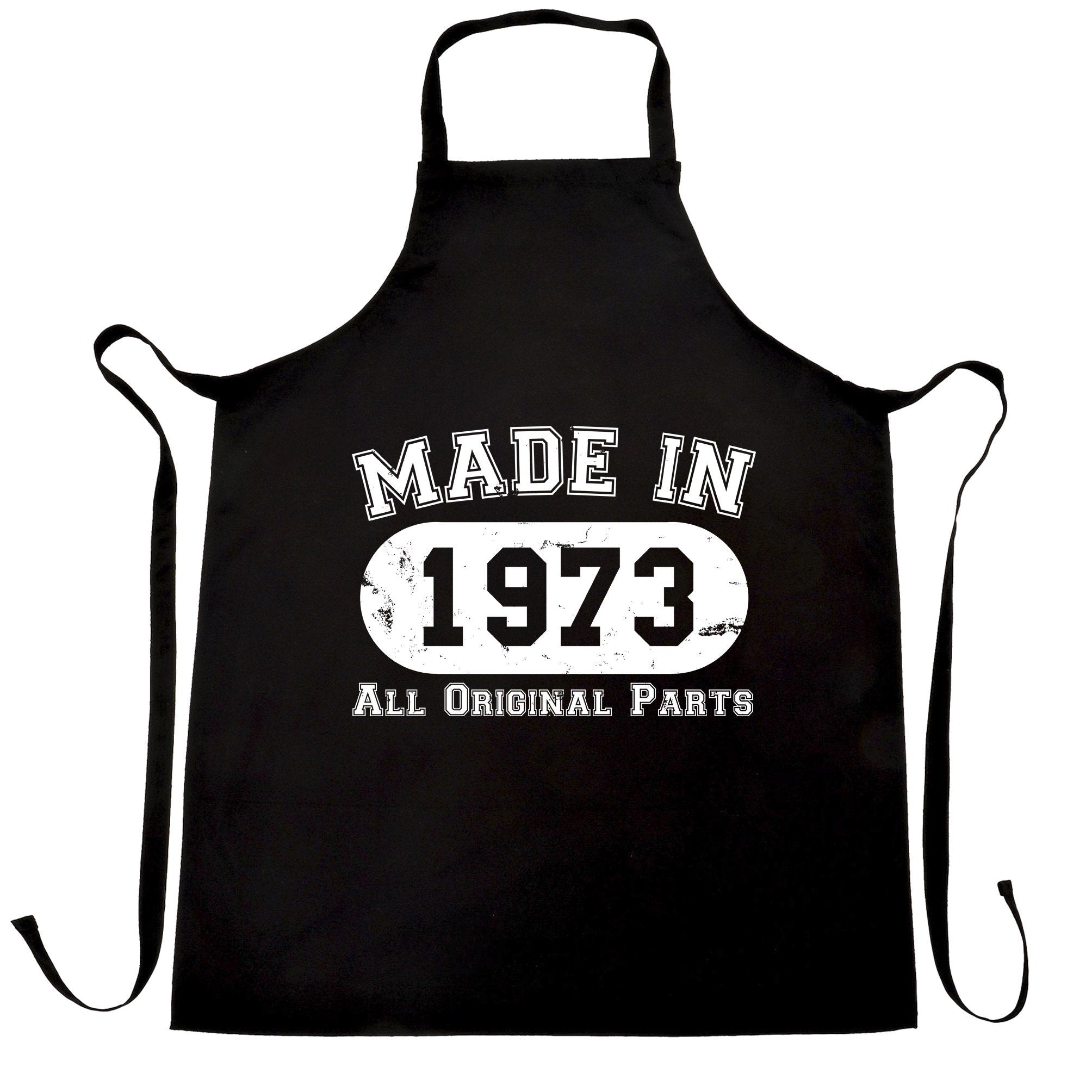 Made in 1973 All Original Parts Apron [Distressed]
