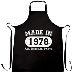 Made in 1978 All Original Parts Apron [Distressed]