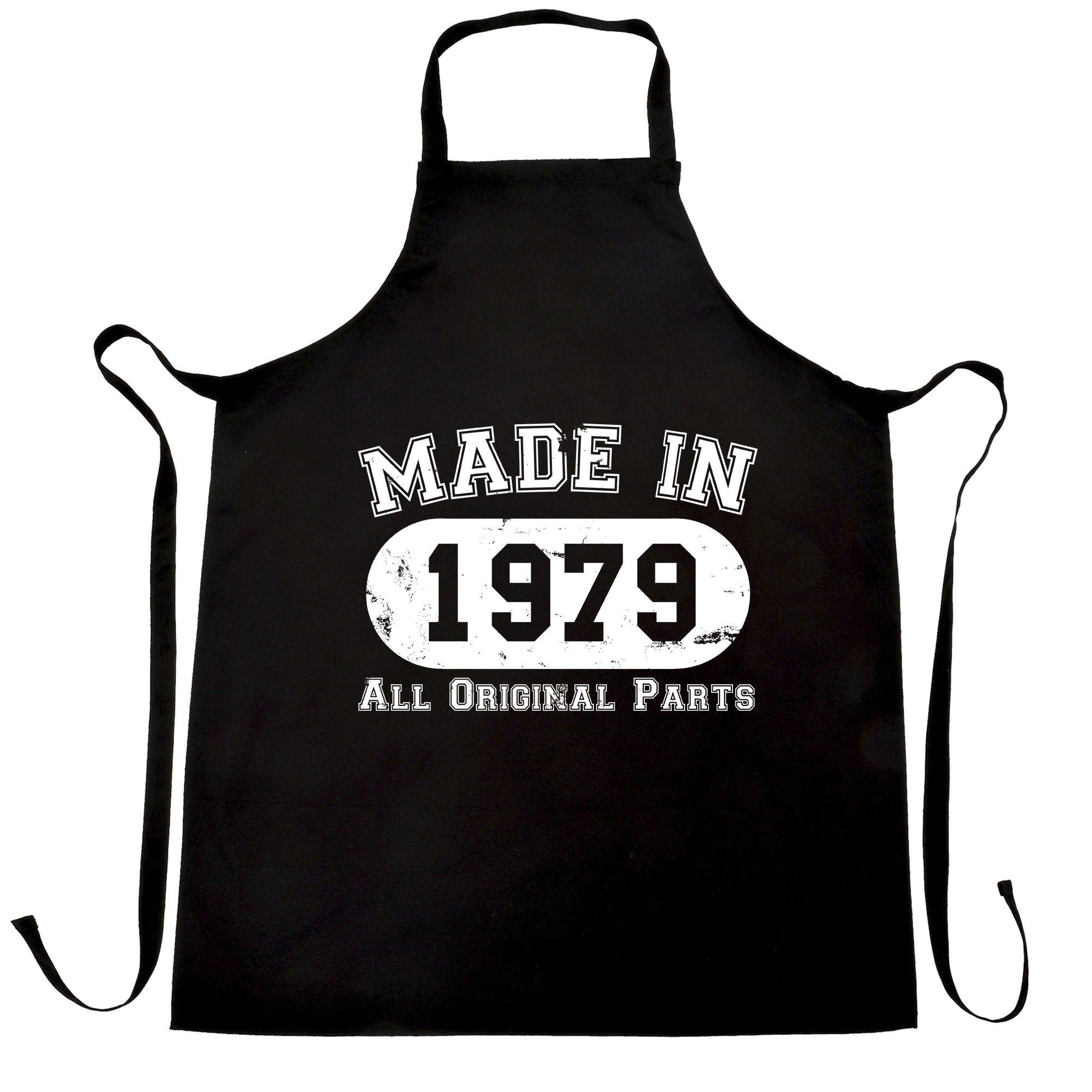 Made in 1979 All Original Parts Apron [Distressed]