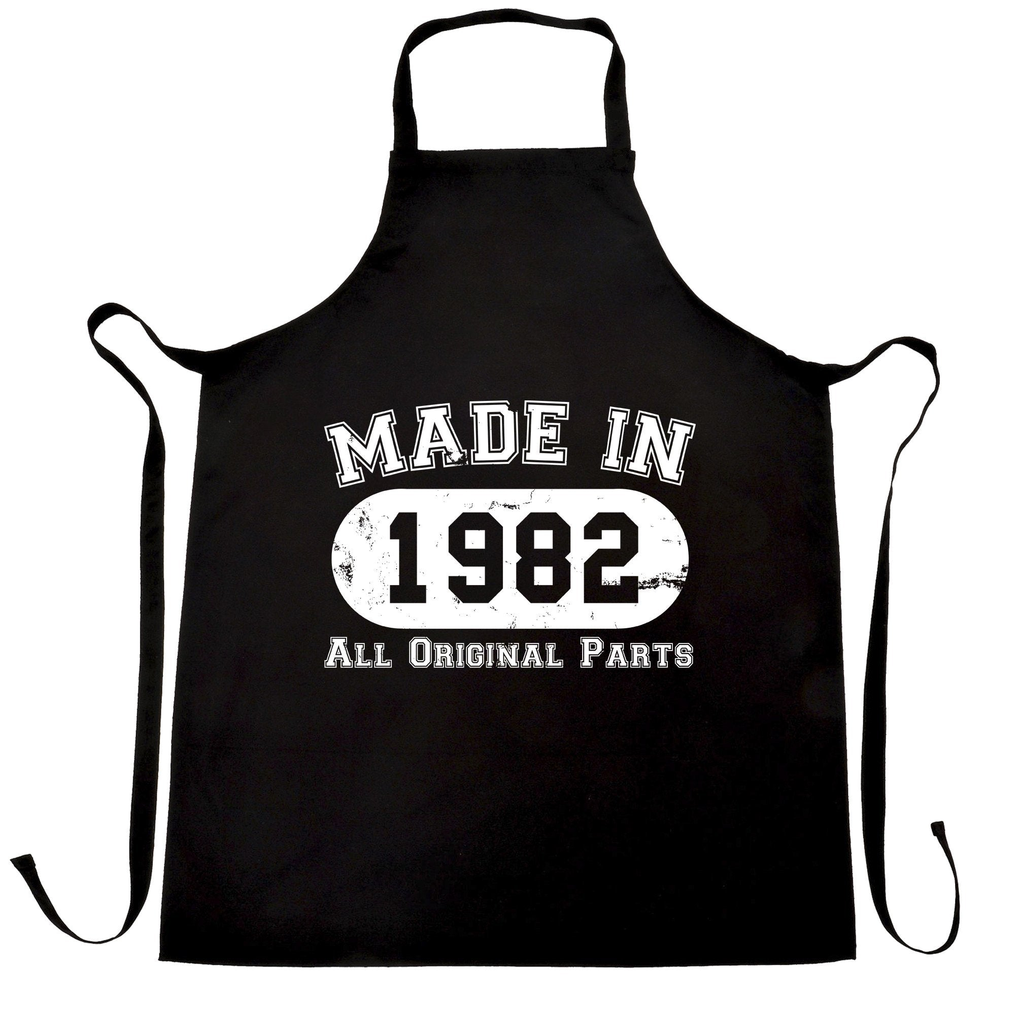 Made in 1982 All Original Parts Apron [Distressed]