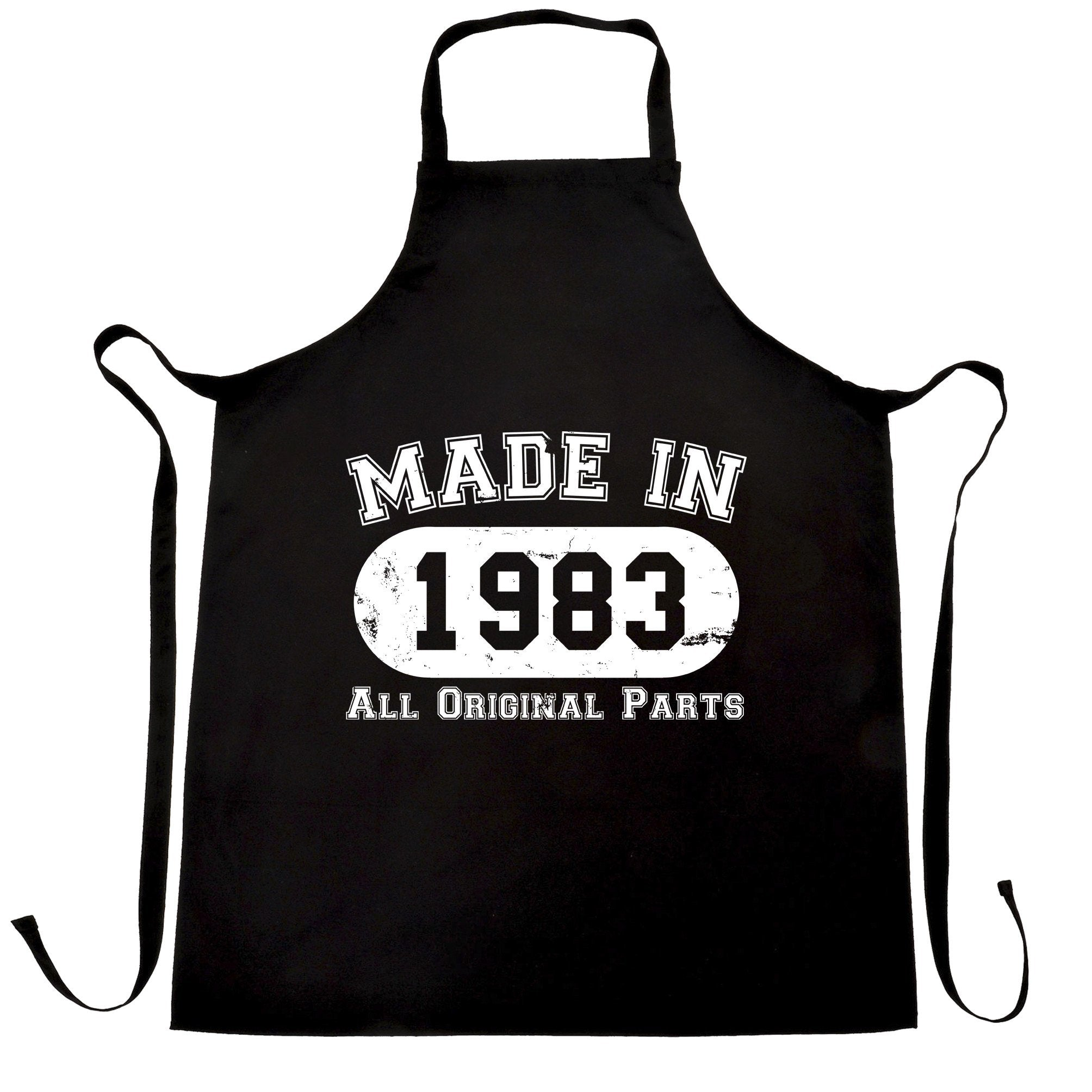 Made in 1983 All Original Parts Apron [Distressed]