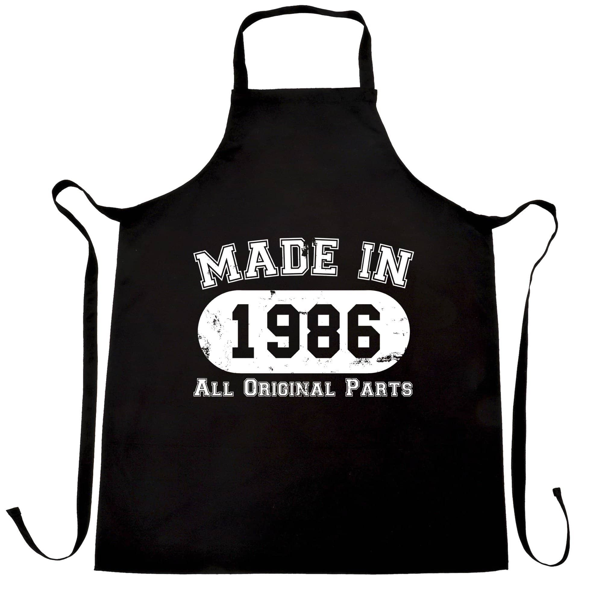 Made in 1986 All Original Parts Apron [Distressed]