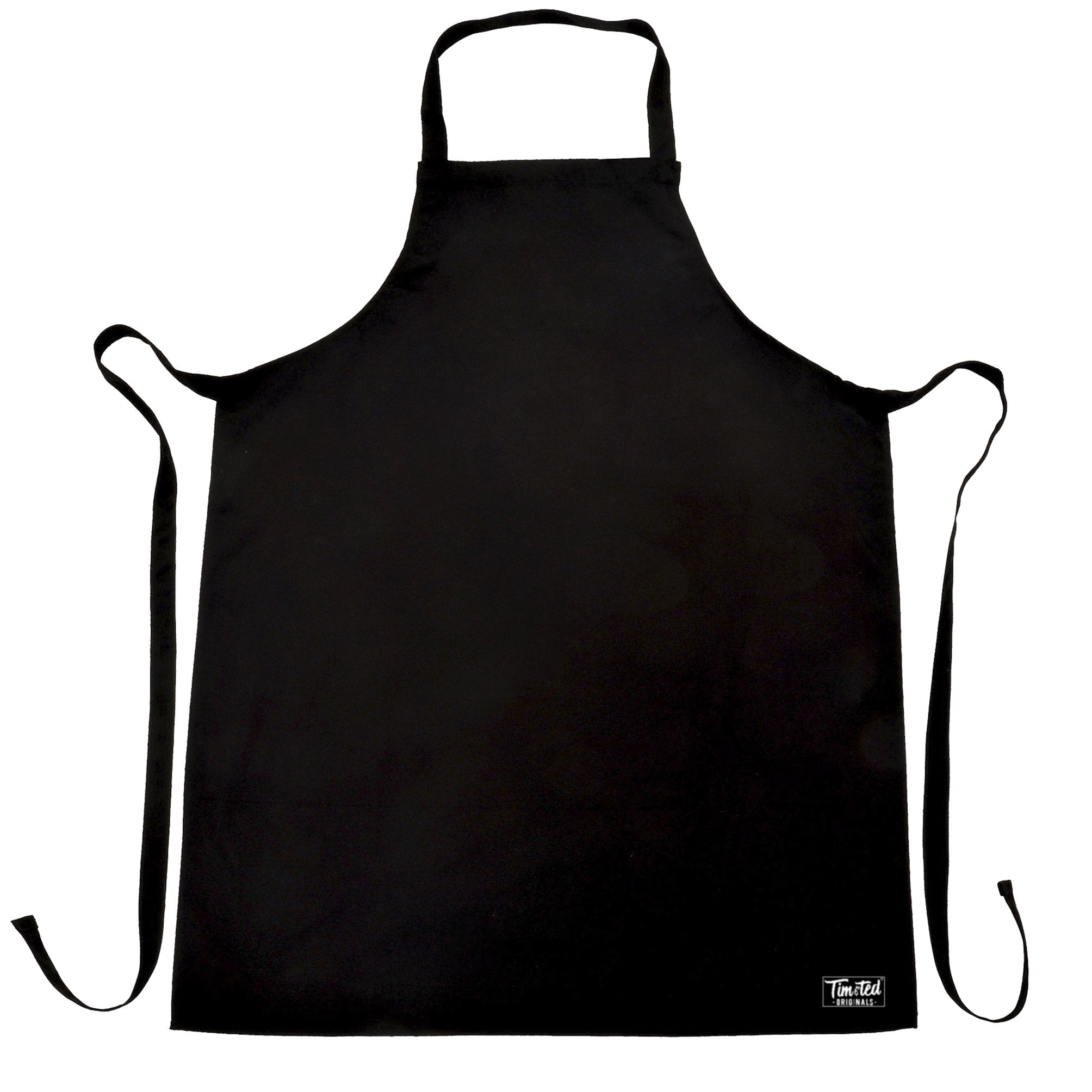 Tim and Ted Logo Premium Plain Apron Apparel