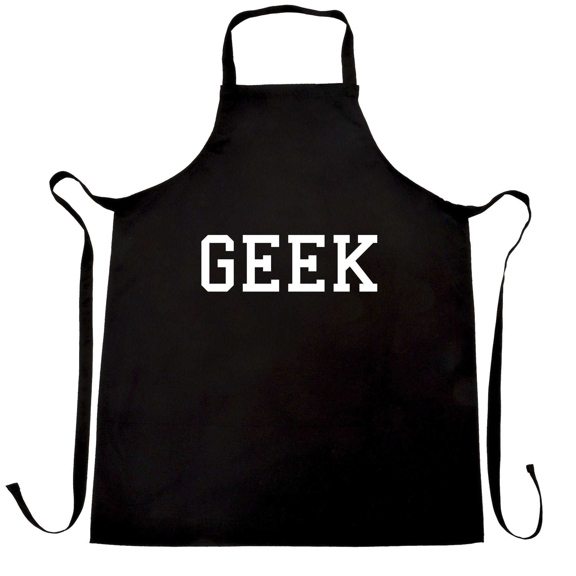 GEEK Hipster Fashion Tumblr Swag Cool Funky Funny Style Geeky Apron