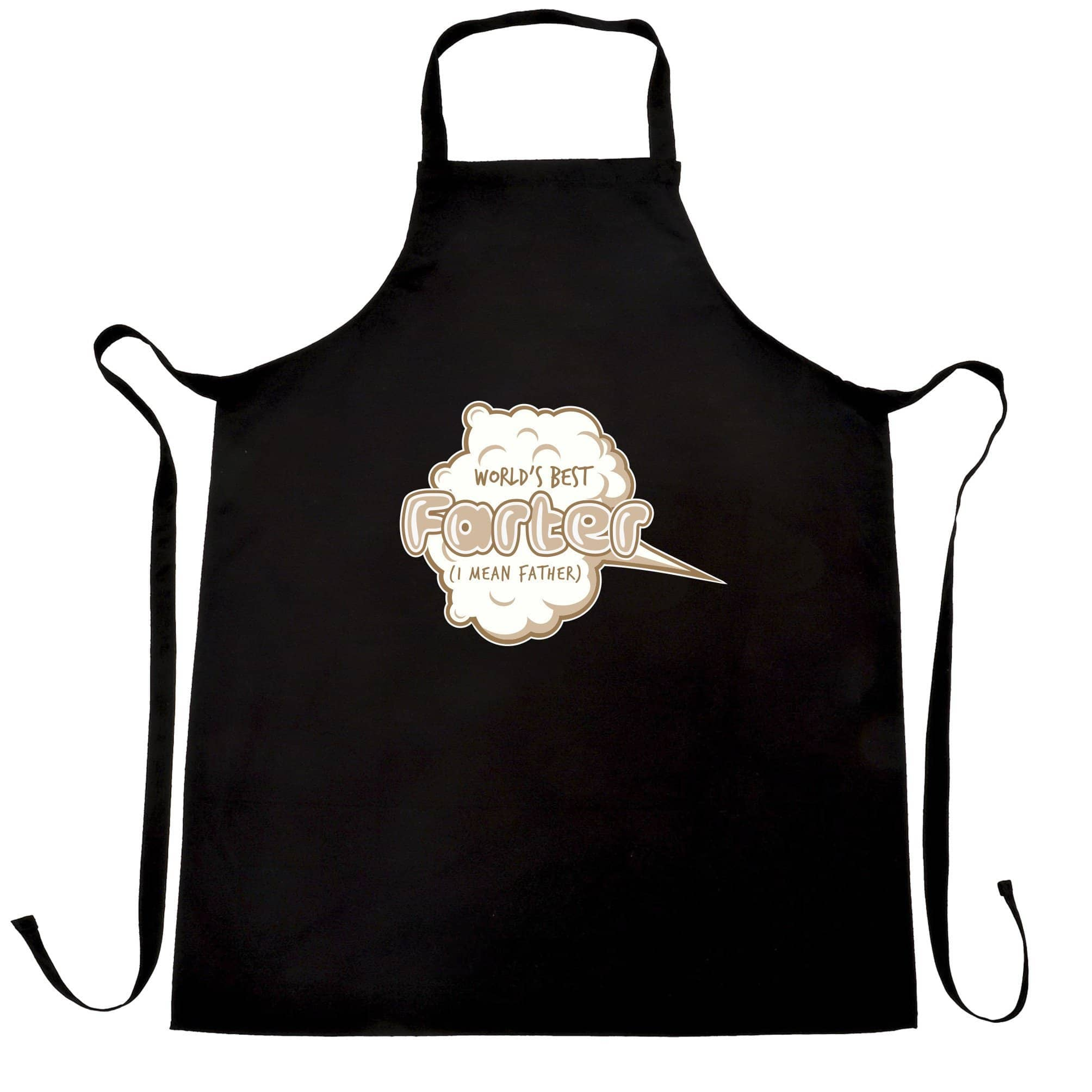 Joke Father's Day Chef's Apron Worlds Best Farter Pun