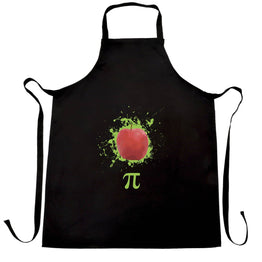 Funny Chefs Apron Apple Pie Pi Math Pun Joke