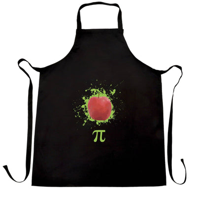 Novelty Chef's Apron Apple Pie Pi Math Pun Joke