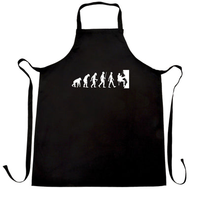 Sports Chef's Apron The Evolution Of Rock Climbing
