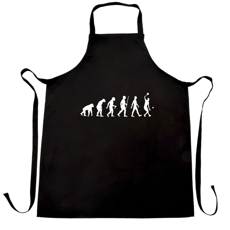 Sports Chefs Apron Evolution Of A Tennis Player