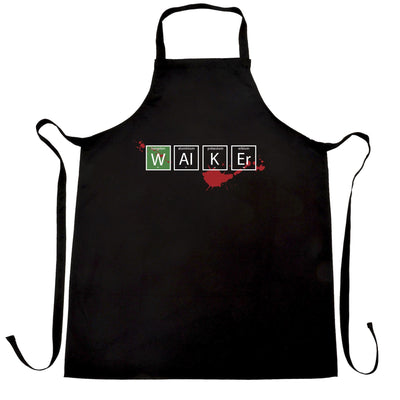 Geeky TV Parody Chef's Apron Walker Periodic Table