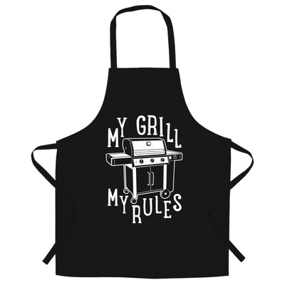 My Grill My Rules BBQ Chef's Apron