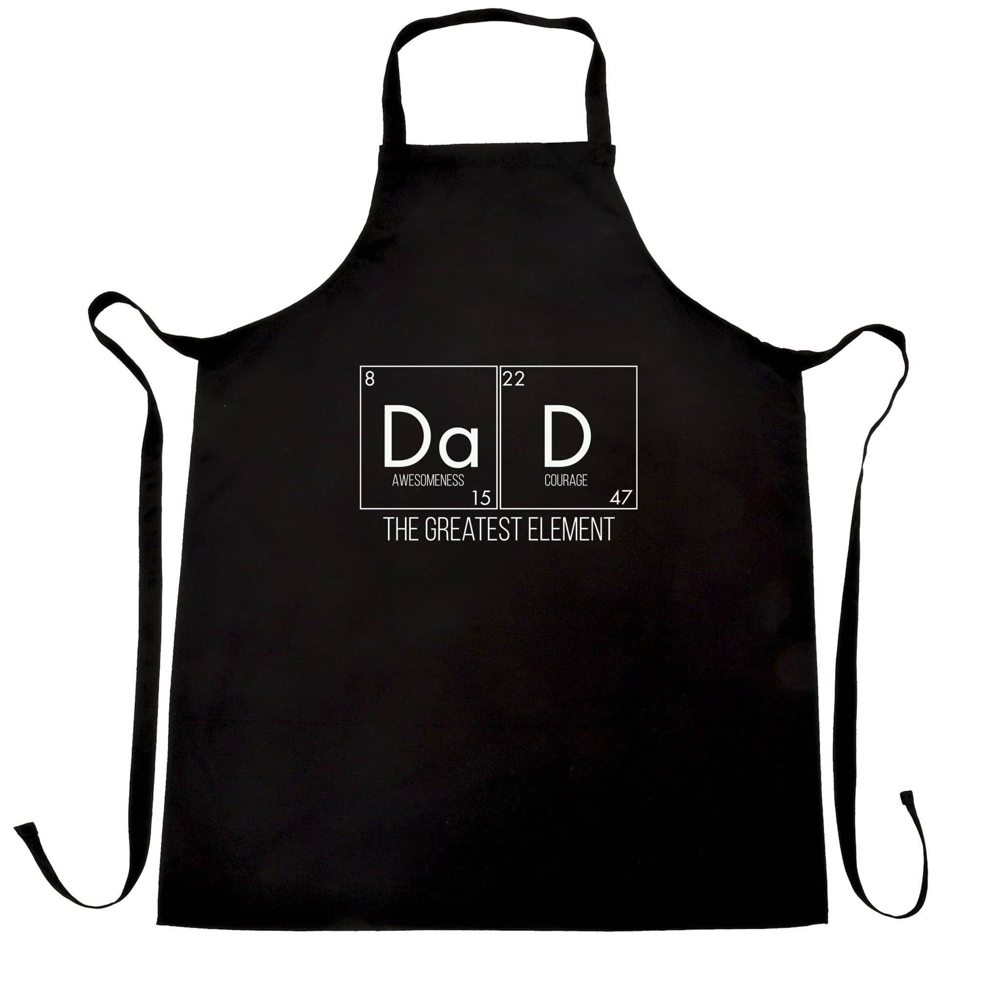 Father's Day Chef's Apron Dad, The Greatest Element