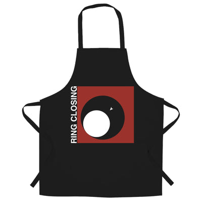 Novelty Gaming Chef's Apron Ring Closing Design