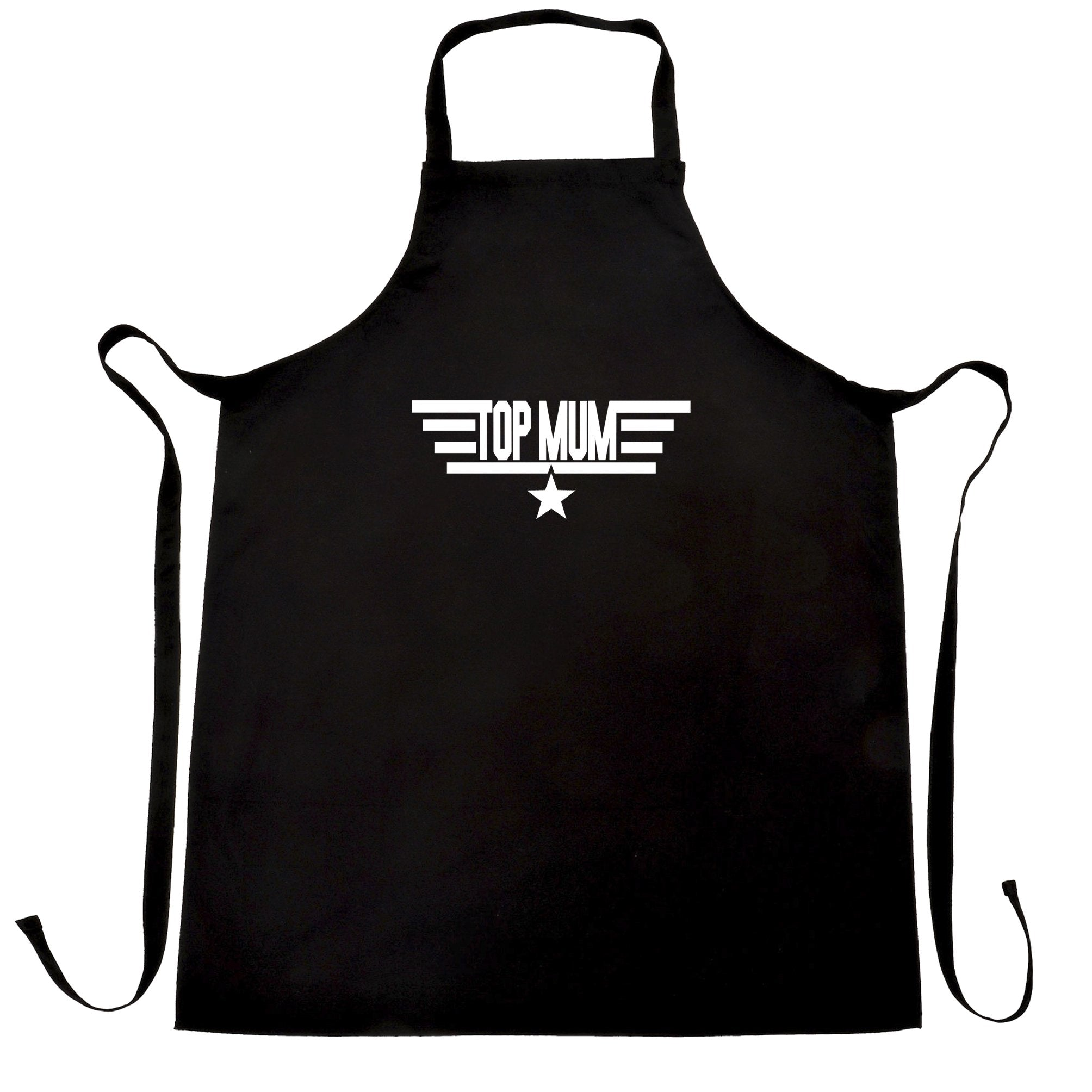 Movie Parody Chef's Apron Top Mum Flight Logo