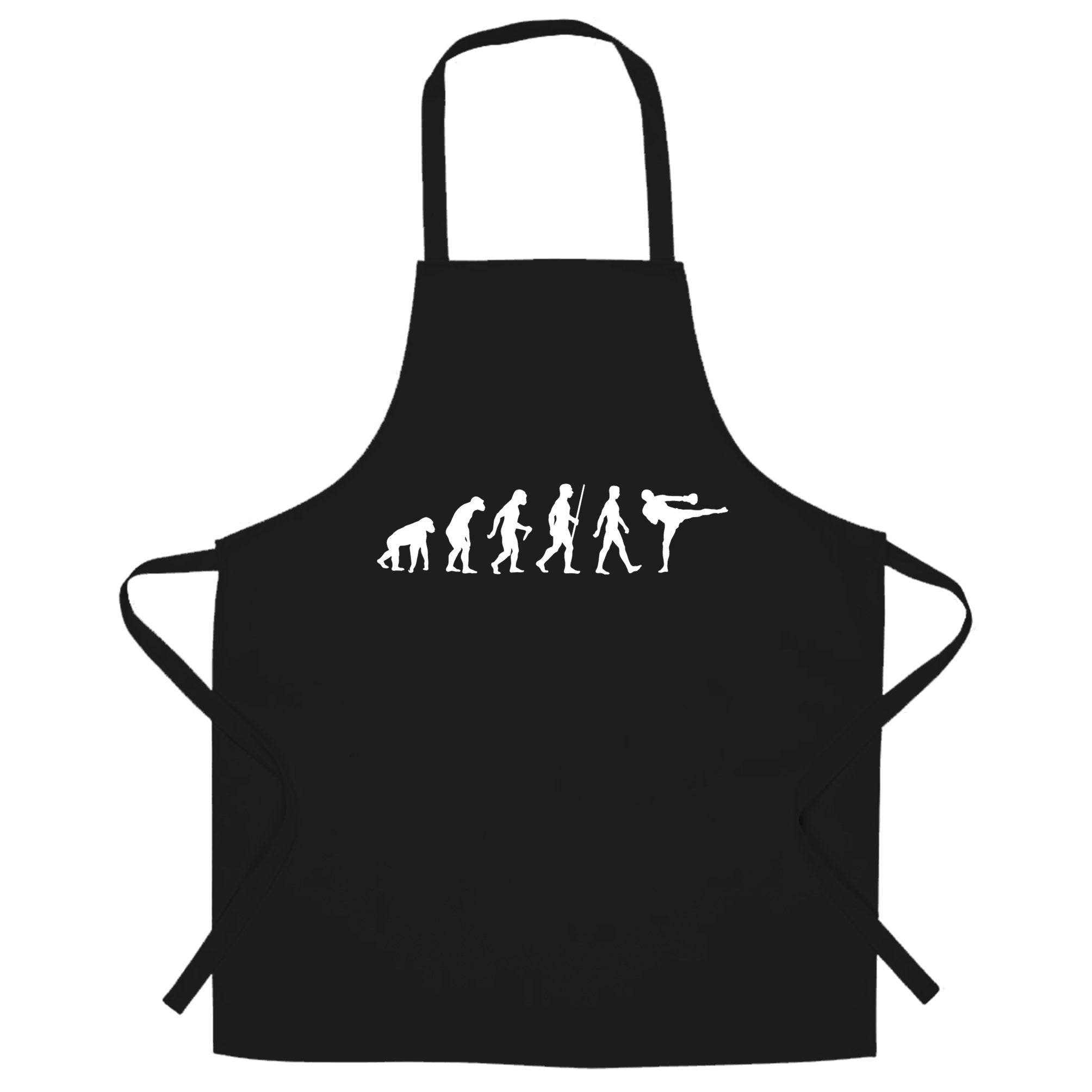 Kickboxing Chef's Apron The Evolution of Kickboxing