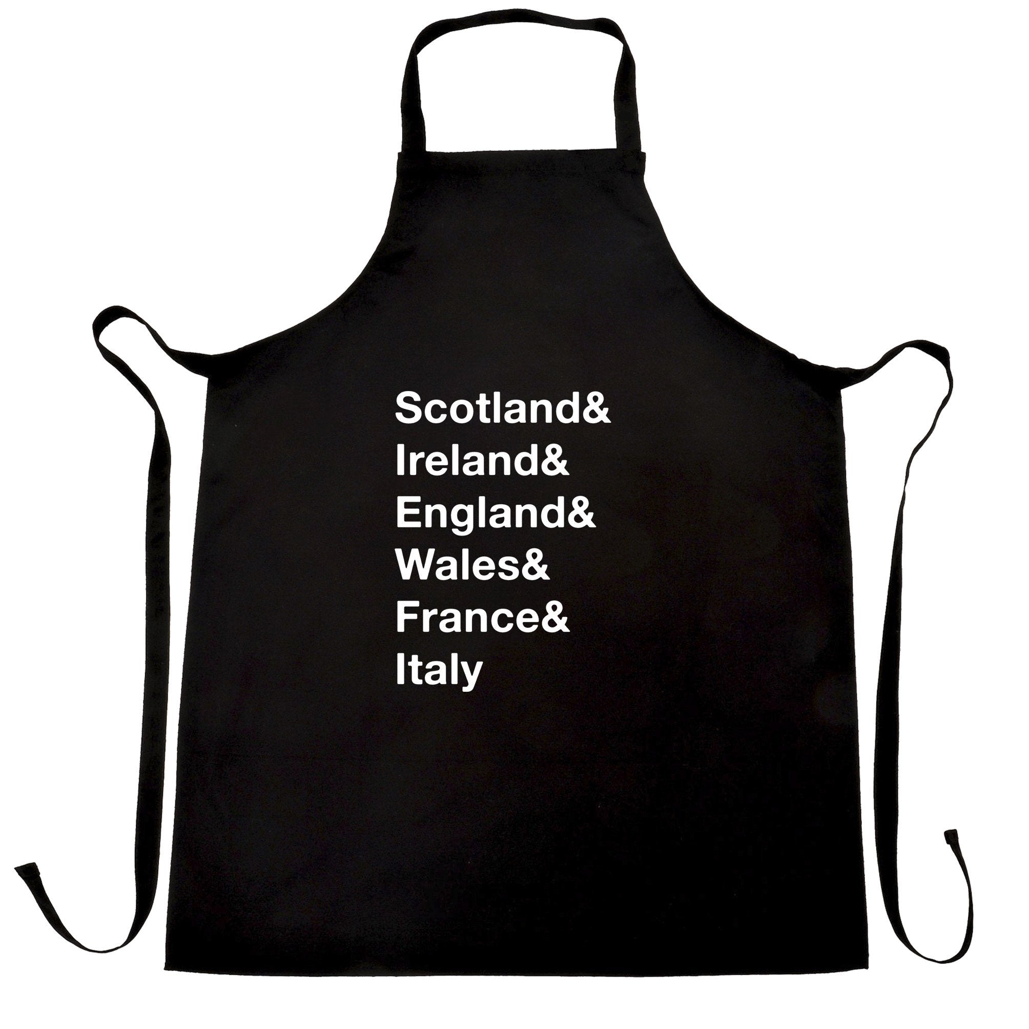 The Six Nations Chef's Apron Scotland, Ireland, England