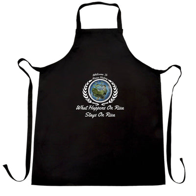 Novelty Nerdy Chef's Apron What Happens On Risa Stays