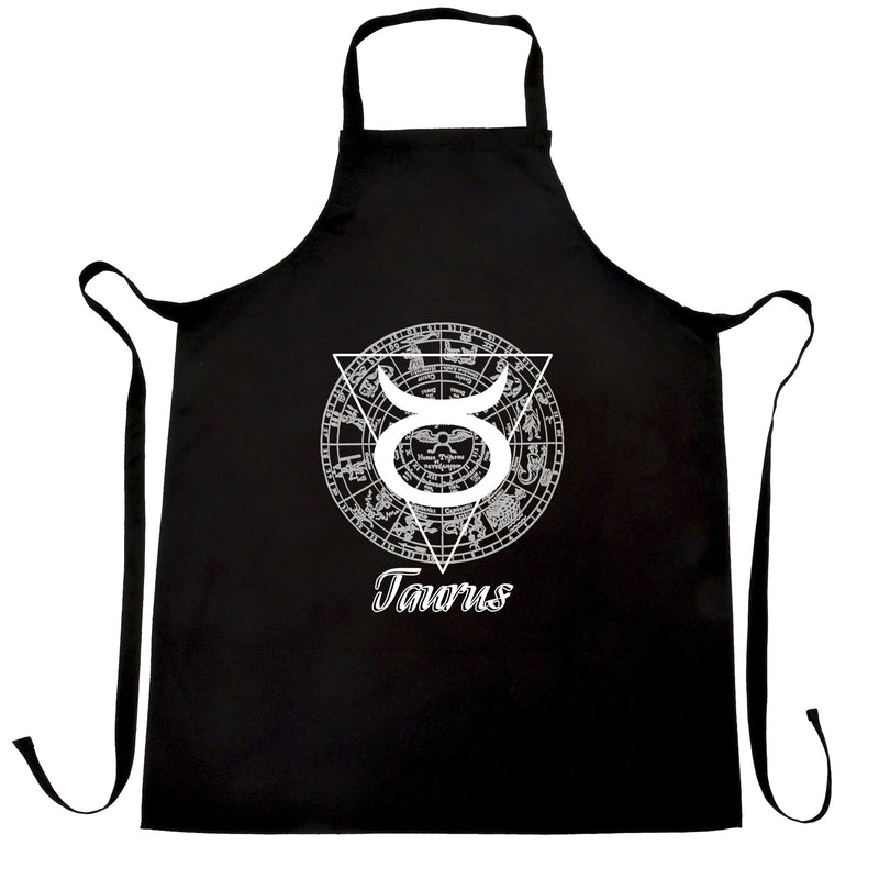 Horoscope Chefs Apron Taurus Zodiac Star Sign Birthday