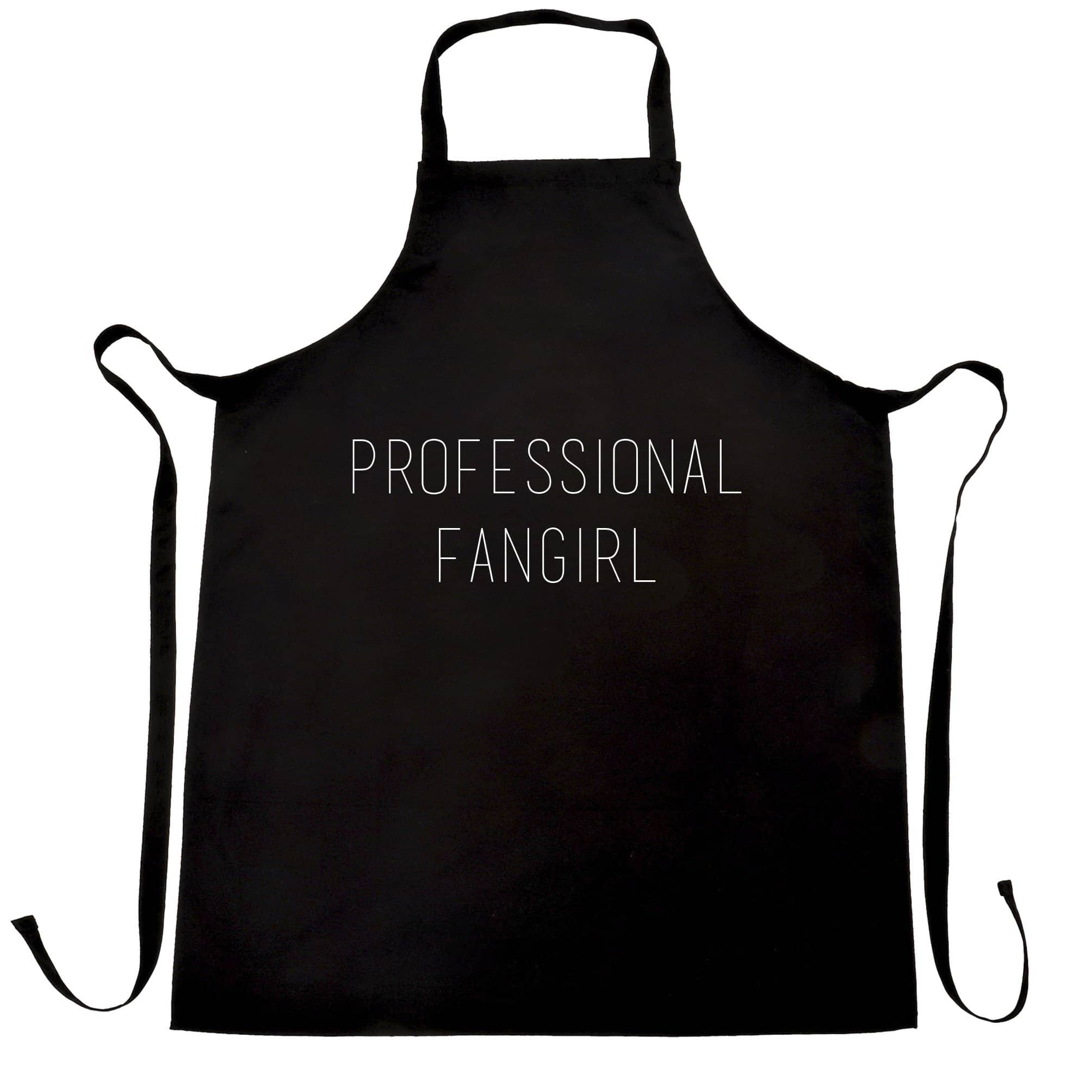 Novelty Joke Slogan Chef's Apron Professional Fangirl