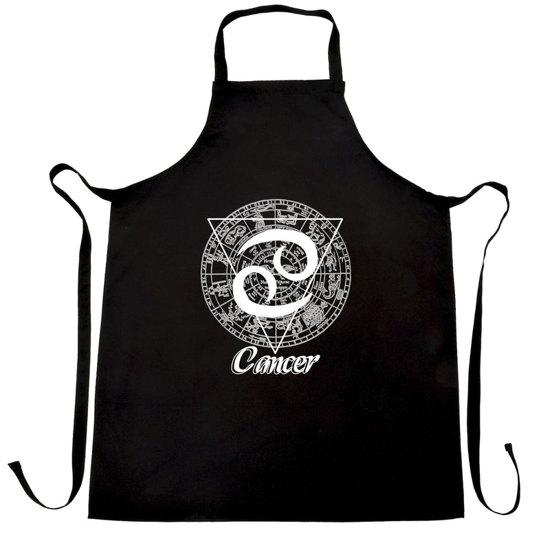 Horoscope Chefs Apron Cancer Zodiac Star Sign Birthday