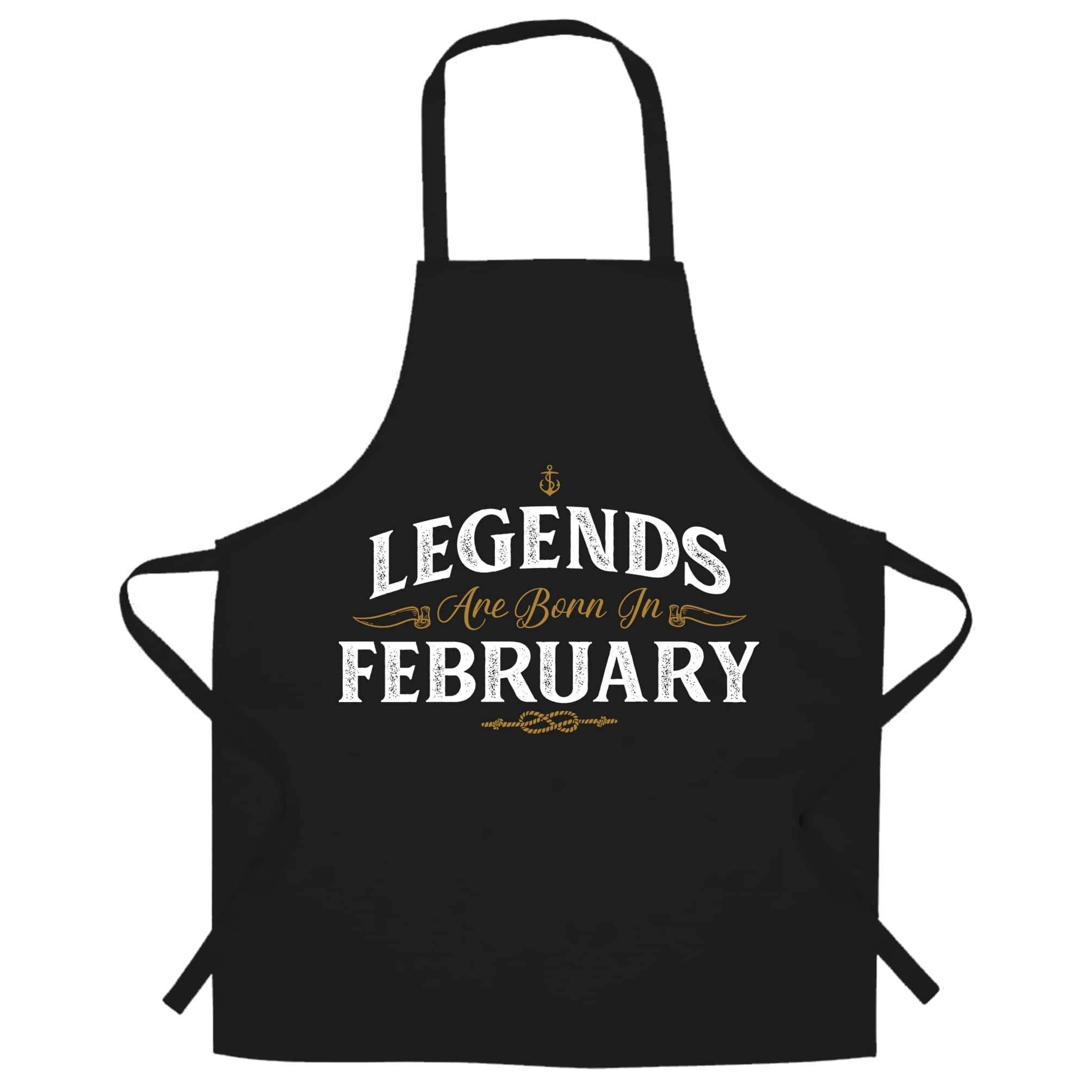 Birthday Chefs Apron Legends Are Born In February