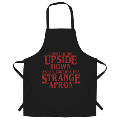 Went To The Upside Down Got This Strange Chef's Apron Thing