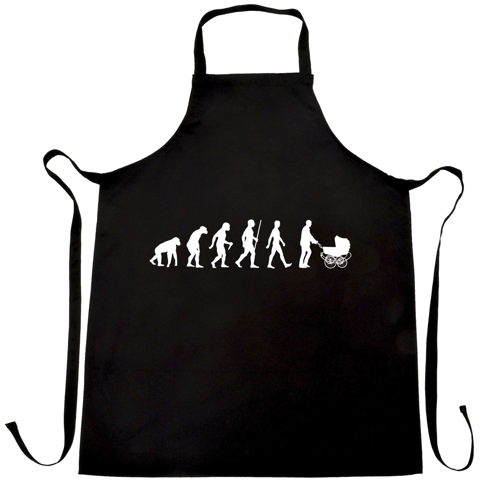 Parenthood Chef's Apron Evolution Of A Family New Born Baby