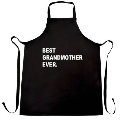 Best Grandmother Ever Chef's Apron Parent Family Slogan