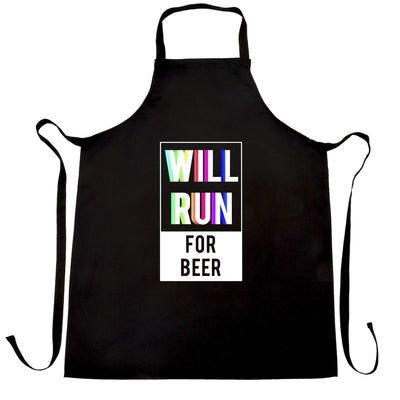 Novelty Chef's Apron Will Run For Beer Slogan