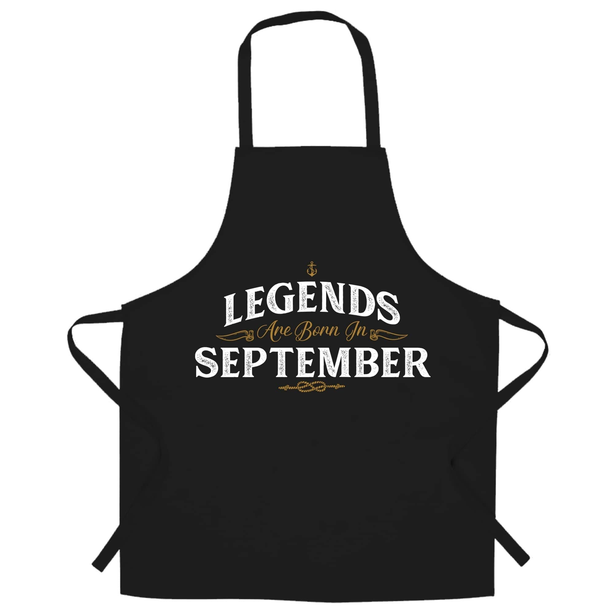 Birthday Chefs Apron Legends Are Born In September