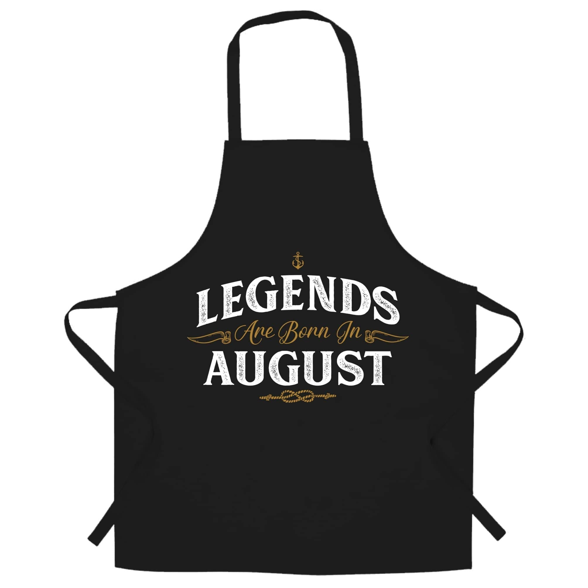 Birthday Chefs Apron Legends Are Born In August
