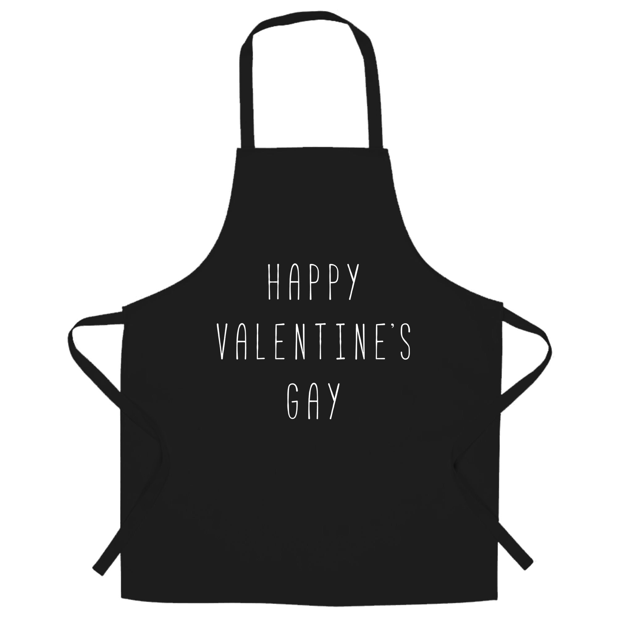 Relationship Chef's Apron Happy Valentine's Gay Pun