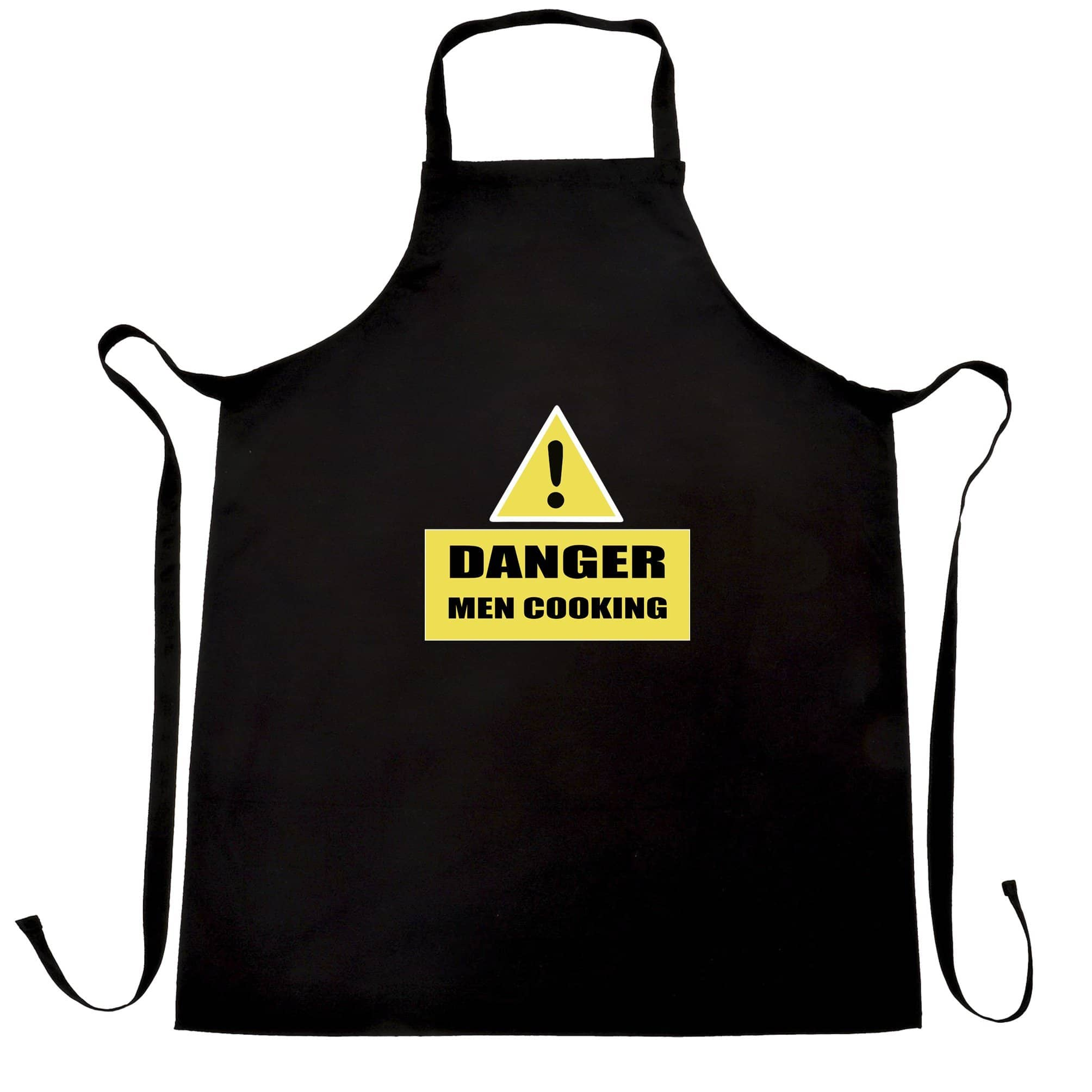 Novelty Barbecue Chef's Apron Danger! Men Cooking Sign