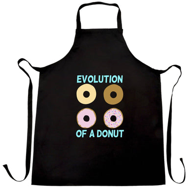 Novelty Food Chef's Apron The Evolution Of A Donut