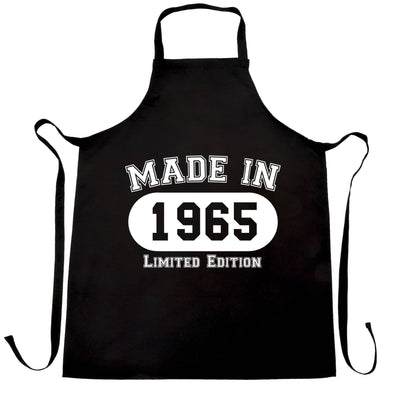 Birthday Chef's Apron Made in 1965 Limited Edition