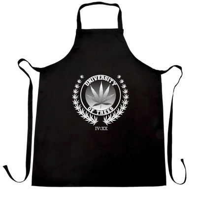 Stoner Chef's Apron University of Trees IV:XX 420 Logo