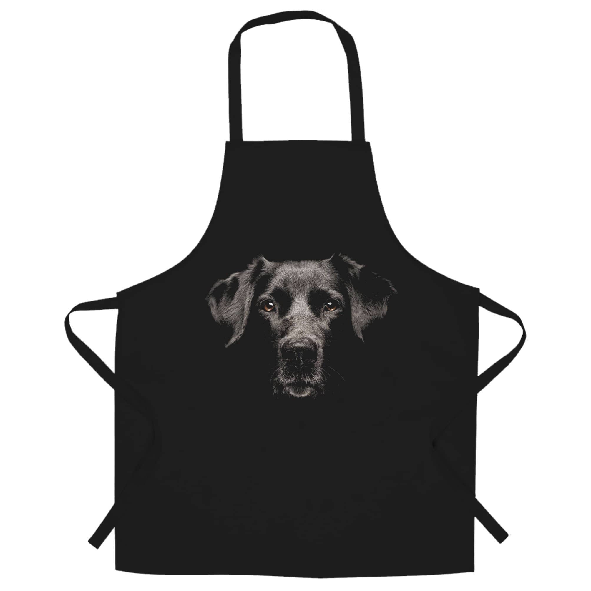 Dog Face Chef's Apron Cute Puppy Head Photo