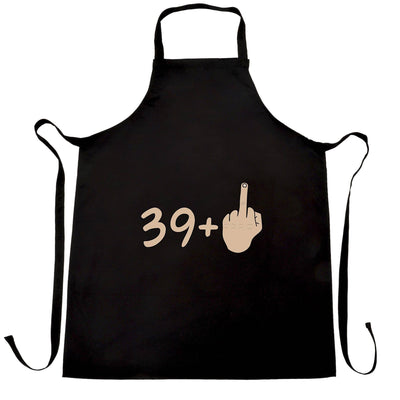 40th Birthday Chef's Apron 39 plus 1 gesture