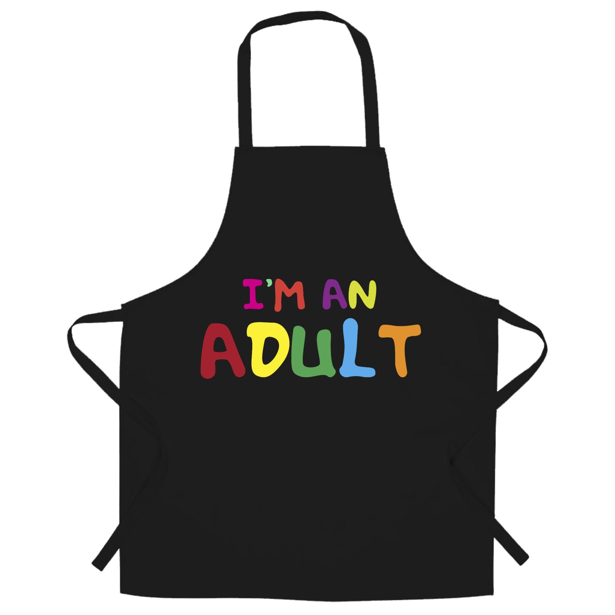 Novelty Slogan Chefs Apron I'm An Adult Joke