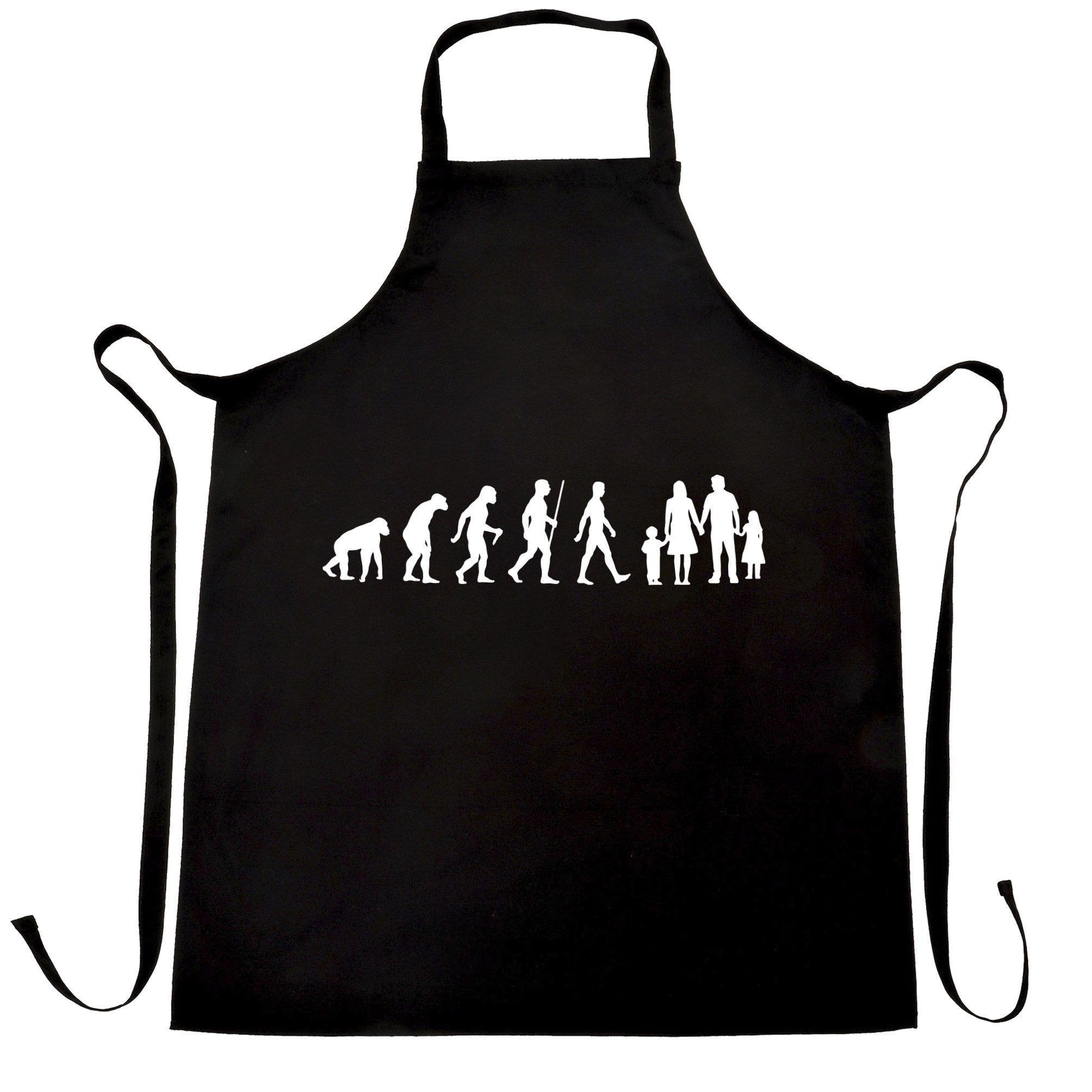 Parenthood Chef's Apron Evolution Of A Family Girl And Boy