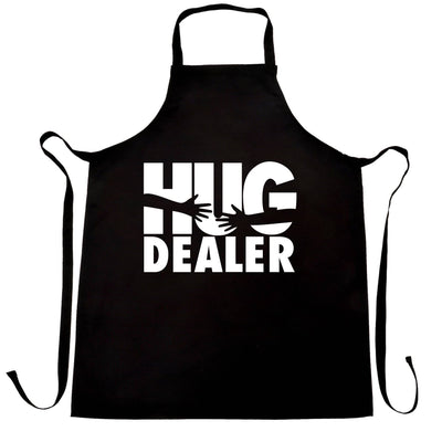 Novelty Love Chef's Apron Hug Dealer Parody Slogan